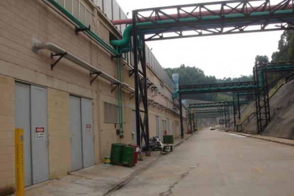 Companhia Brasileira de Alumínio - CBA - Laminador